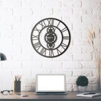 Horloge mural en métal Gibson