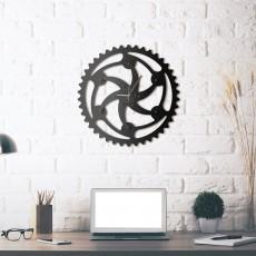 Metal wall Clock Vortex