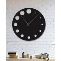 Horloge mural en métal Loader
