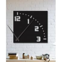 Horloge mural en métal One quarter
