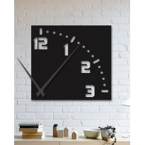 Metal wall Clock One quarter