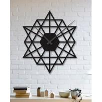 Horloge mural en métal Geometric figure