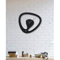 Metal wall Clock Oval