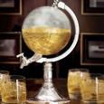 Distributeur de boisson design globe
