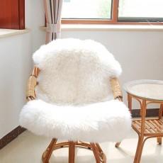 Super fausse fourrure de peau de mouton-chaise - Tapis