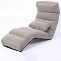 Chaise de plancher inclinable