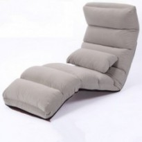 Reclining floor chair
