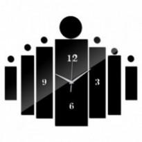 Horloge murale 3d autocollant