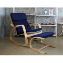 Rocking chair and footrest set