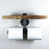 Porte-papier toilette industriel