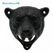 Décapsuleur mural en forme de tête d'ours