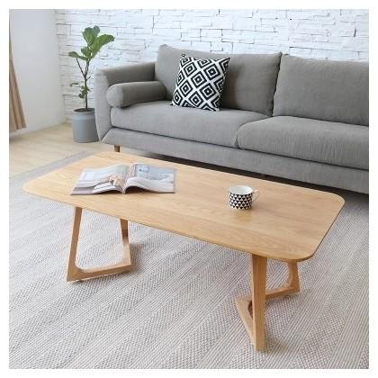 Salon simple en bois petite table basse en bois massif - Petite table basse de salon ...