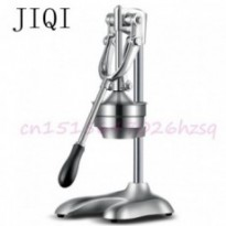JIQI Stainless Steel Citrus Fruits Squeezer Orange Lemon Manual Juicer Lemon Fruit Pressing Machine