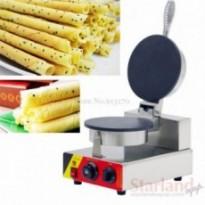 Stainless Steel Crispy Pancake Machine Single Head Waffle Baker