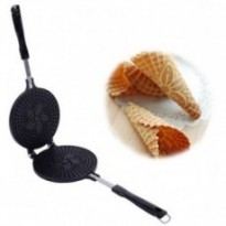 Crispy Crepe Pan Ice Cream Cone Pan Non-stick Baking Mould Crispy Egg Roll Maker Waffle Iron DIY m