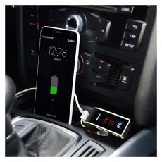 Kit G7 Chargeur Bluetooth Emetteur Transmetteur FM Pour Voiture