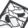 Miroir en acier Branche