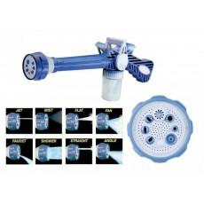 Multi Fonction EZ Jet Water Cannon 8 en 1 Turbo Spray Eau Pistolet Savon intégré