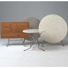 Table Rabatable ronde