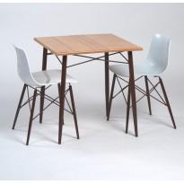 Square vintage table