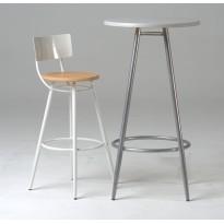 Round isotop vinyl table