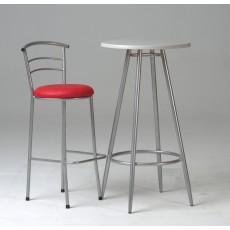 Table vinyle ronde en isotop