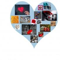 11 Tableaux | composition Coeur