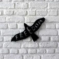Tableau déco en acier Freedom