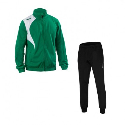 ERREA Kit Tracksuit Clayton -Green white+ Sintra D580G-190