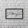 Metal wall art Creation