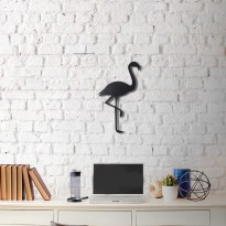 Metal wall art Flamingo
