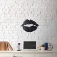 Tableau déco en acier Lèvres