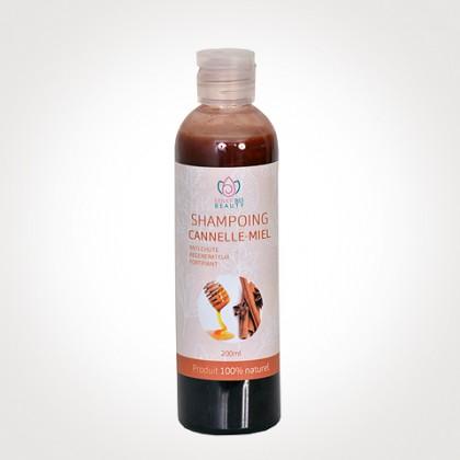Shampoing au cannelle-miel bio