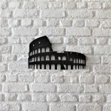 Tableau déco en acier Colisée