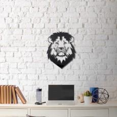 Metal wall art Lion head