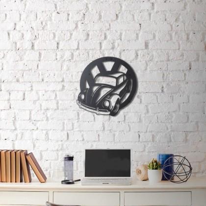 Metal wall art Be Beetle