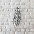 Metal wall art Feather